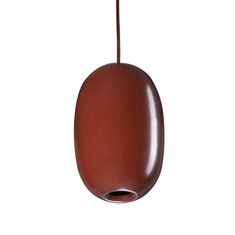 Örsjö Belysning Pebble Kattovalaisin Pitkänomainen Punainen-Metalli