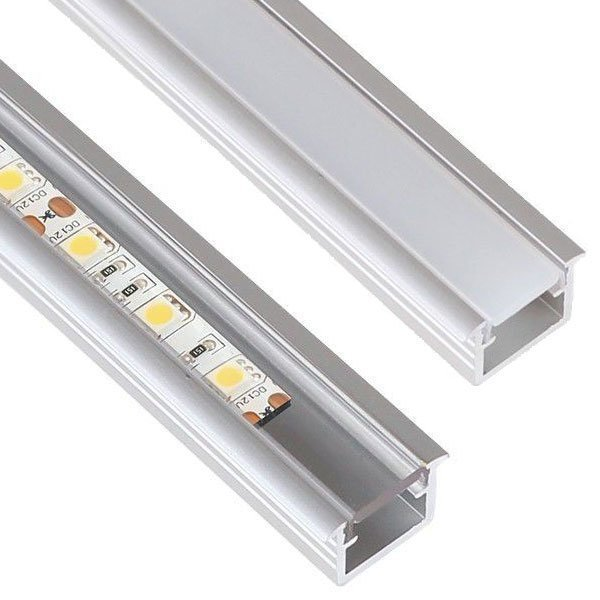 10 x 2m Inline Alumiini Profiili