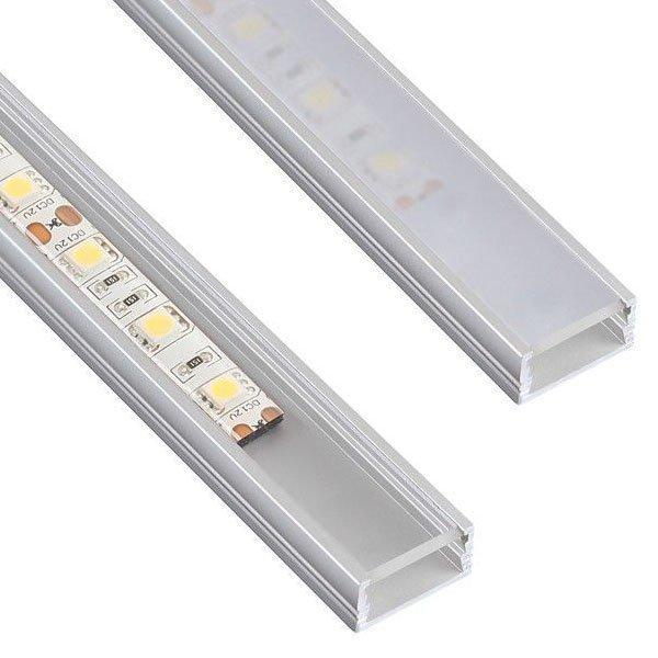 10 x 2m Line Mini Alumiini Profiili
