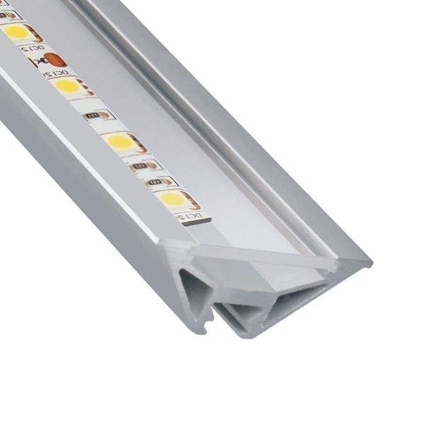 10 x 2m V-line Alu-profil
