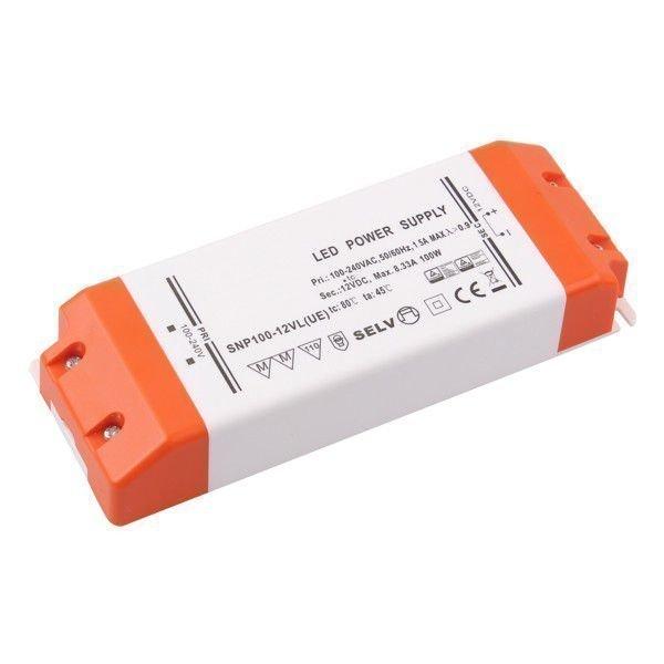 100W Korkealuokkainen LED Virtalähde 12V DC