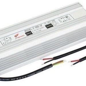 100W LED Virtalähde 12V