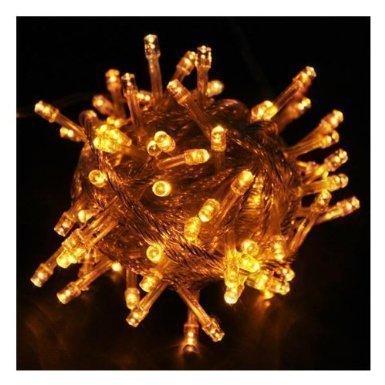 10M LED Jouluvalot Keltainen