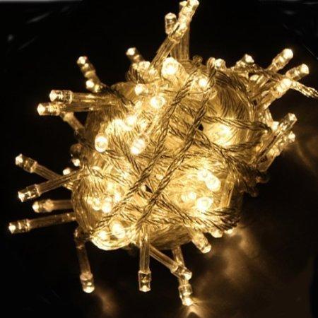 10M LED Jouluvalot Lämmin Valkoinen