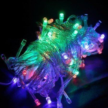 10M LED Jouluvalot RGB