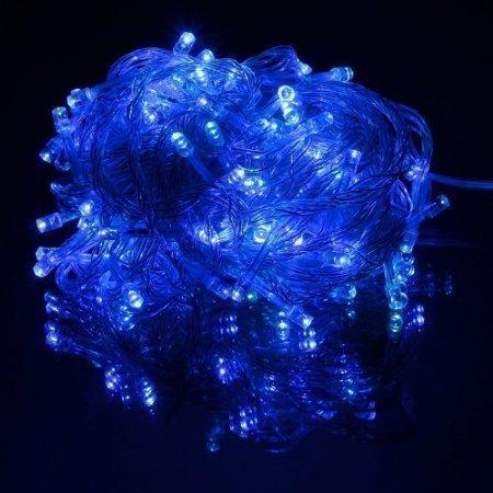 10M LED Jouluvalot Sininen