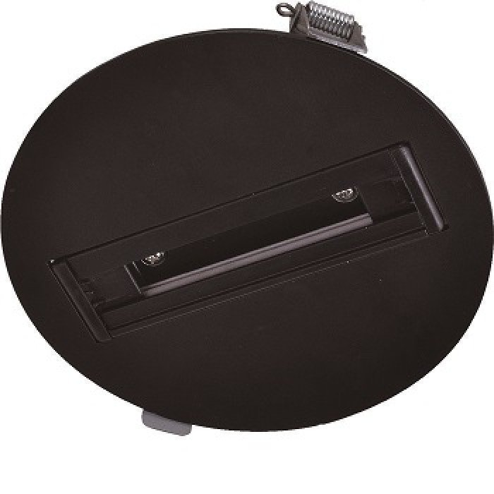 130mm 3-Vaihe LED Kattokisko Musta