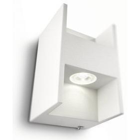 2 KPL X Philips Ledino Metric Seinävalaisin Valkoinen 2x2.5W LED IP20