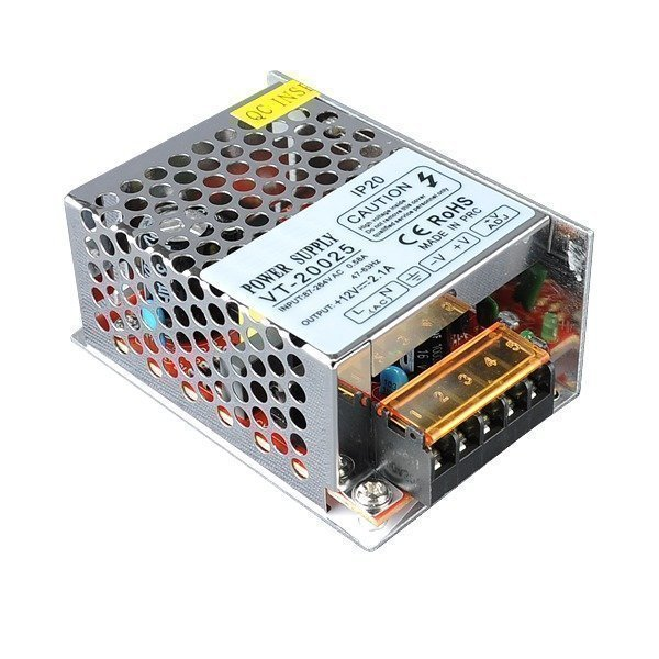 25W SMPS Power Supply 12V