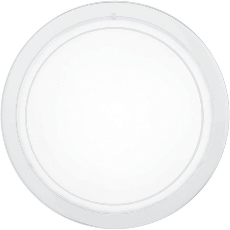 3 KPL X Eglo Plafondi PLANET 1 Ø 29 cm valkoinen