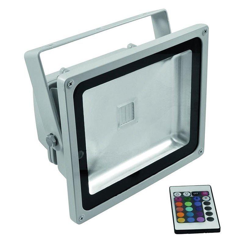 30W RGB LED-Valonheitin Kaukosäätimellä