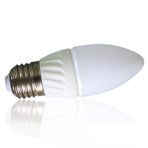 3W LED Kynttilä E27 Himmennettävä