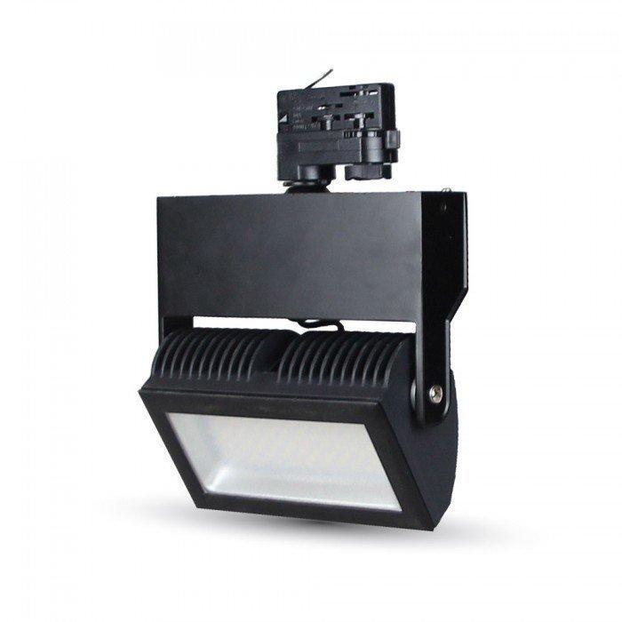 48W 3-Vaihe LED Kisko Valonheitin