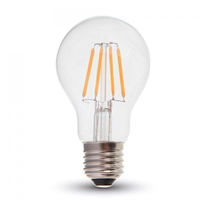 4W A60 Vanhanaikainen LED Lamppu E27