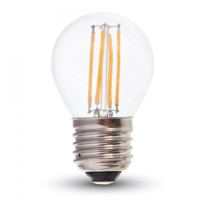 4W G45 Himmennettävä Vanhanaikainen LED Lamppu E27