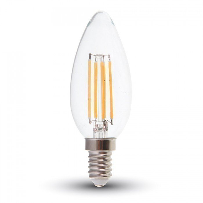 4W Himmennettävä Vanhanaikainen Kynttilä LED Lamppu E14