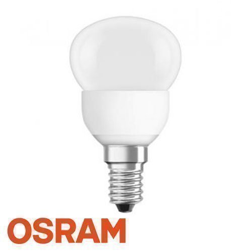 4W OSRAM LED Star P25 E14 LED Lamppu Lämmin Valkoinen