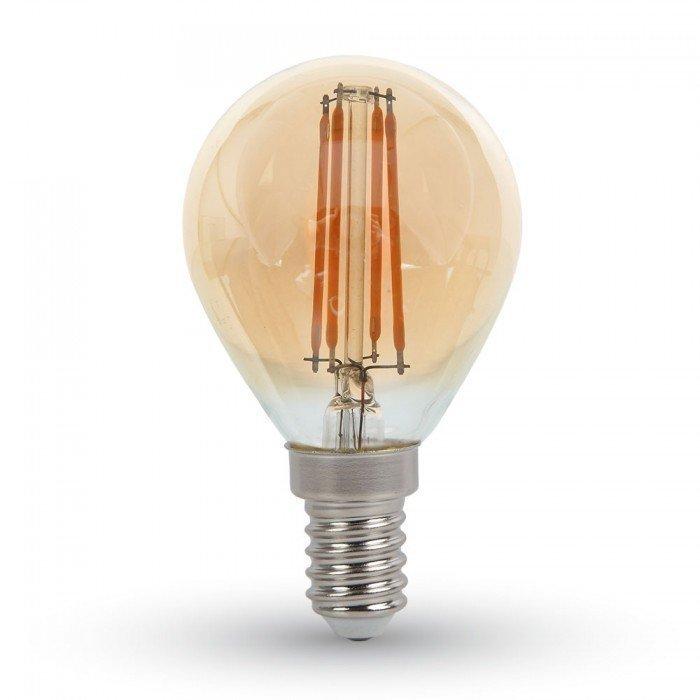 4W Vanhanaikainen G45 LED Hehkulamppu E14