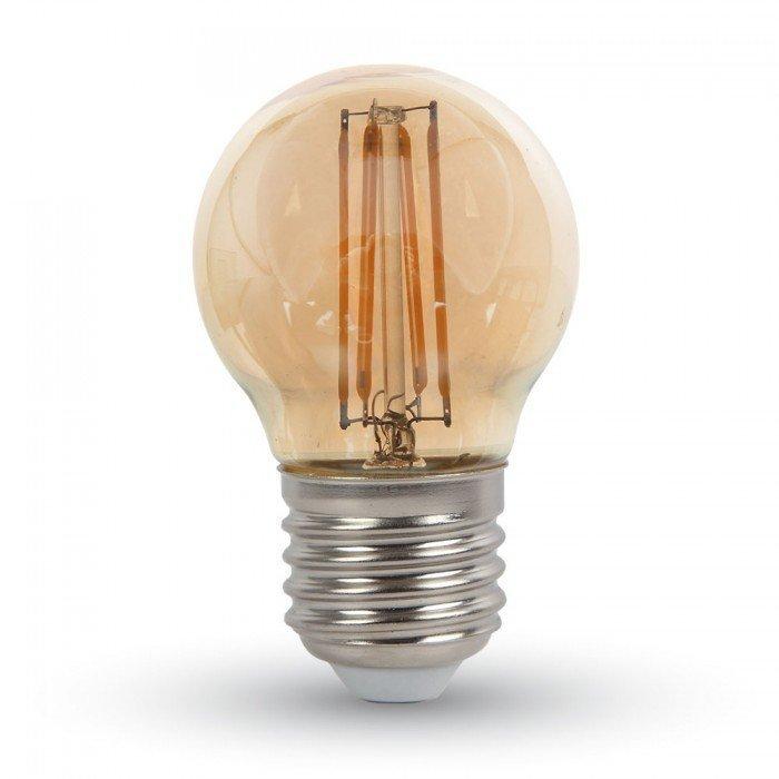 4W Vanhanaikainen G45 LED Hehkulamppu E27