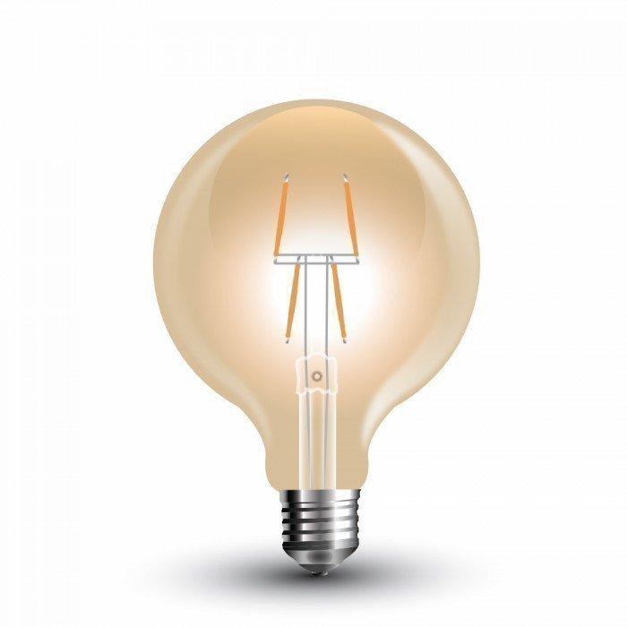 4W Vanhanaikainen G80 LED Hehkulamppu E27