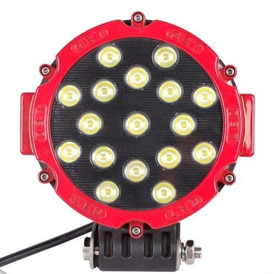 51W Korkealuokkainen Pyöreä LED Työvalo
