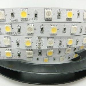 5m RGB+Valkoinen LED Nauha 60 LED/m 10