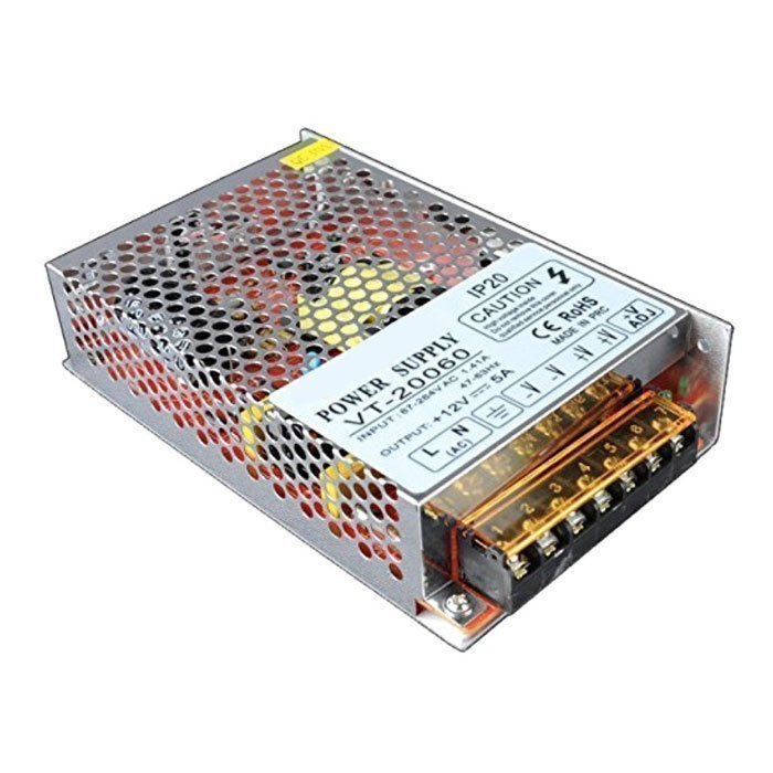 60W SMPS Power Supply 12V