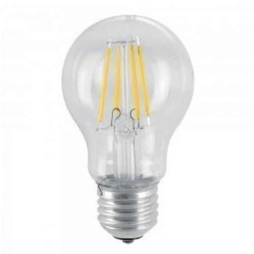 6W A60 Hehkulanka LED Lamppu E27