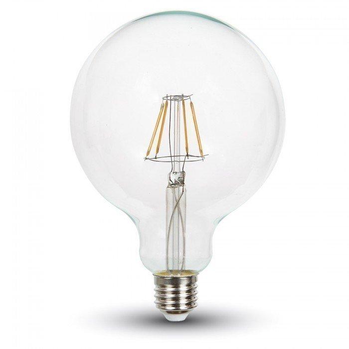 6W G125 Vanhanaikainen LED Lamppu E27