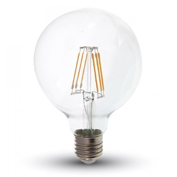 6W G95 Vanhanaikainen LED Lamppu E27
