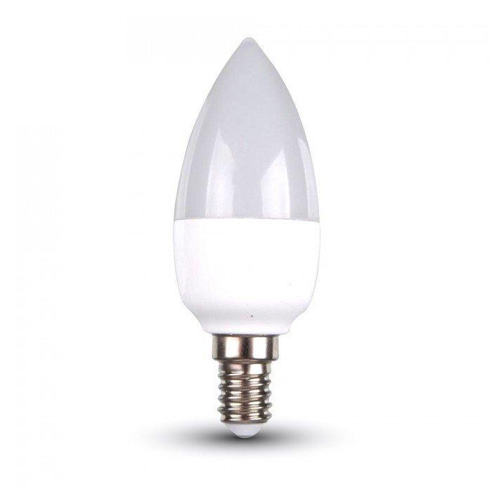 6W Himmennettävä Kynttilä LED Lamppu E14
