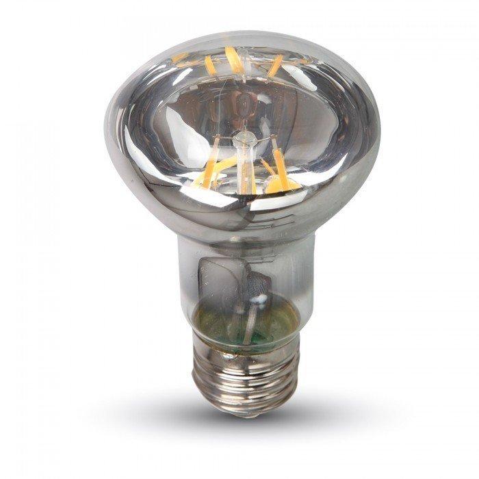 6W R63 Vanhanaikainen LED Lamppu E27