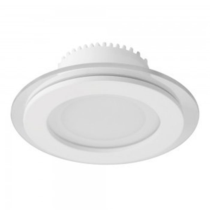 6W Round Glass LED Downlight with Driver