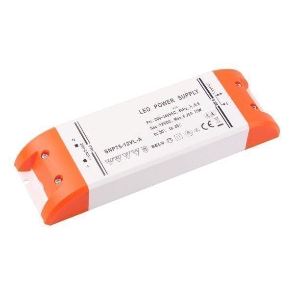 75W Korkealuokkainen LED Virtalähde 12V DC