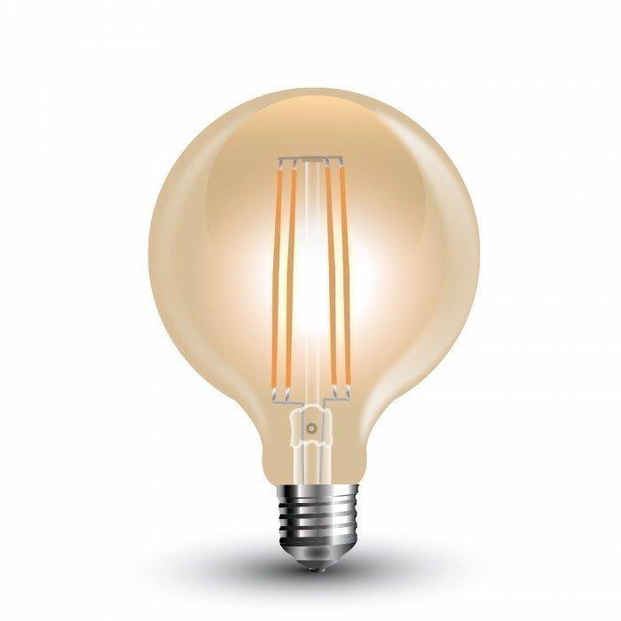 7W Vanhanaikainen G95 LED Hehkulamppu E27