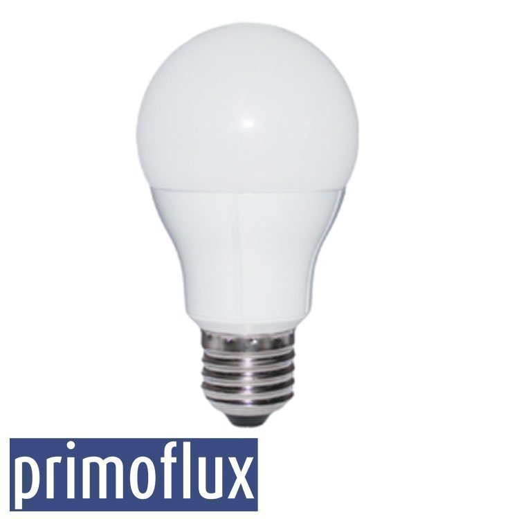 8W PRIMOFLUX Keraaminen E27 LED Lamppu