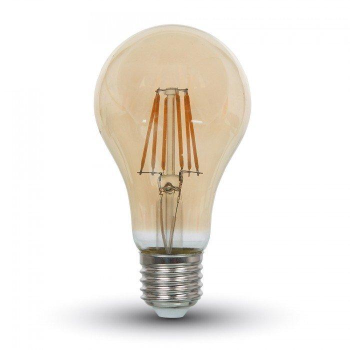 8W Vanhanaikainen A67 LED Hehkulamppu E27