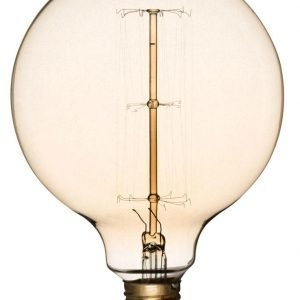 Airam Antique Globe Pallokupu 125 Hiililankalamppu E27 60 W