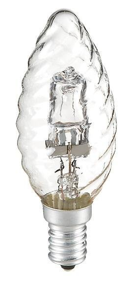 Airam Kierrekynttilälamppu Kirkas Halogeeni E14 240v