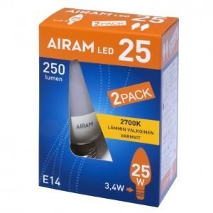 Airam Led 2-Pack 3