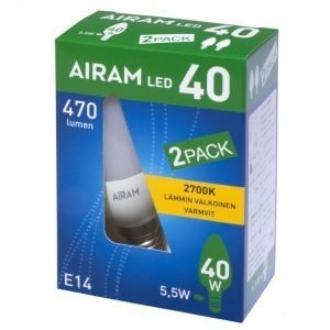 Airam Led 2-Pack 5