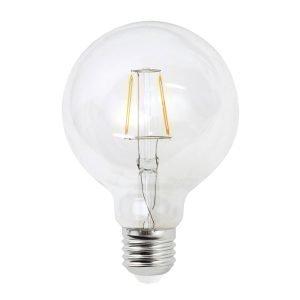 Airam Led Pallo Filamentti Lamppu 95 Mm Himmennettävä E27 4 W