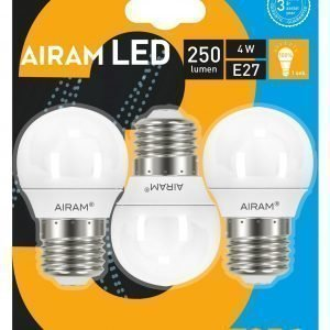 Airam Led Polttimo 3for2 4w Koriste 3bl E27