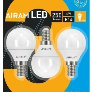 Airam Led Polttimo 3for2 4w Mainos 3bl E14