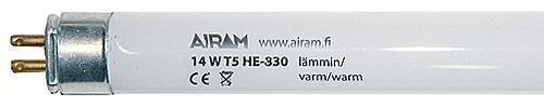 Airam Loistelamppu Lämmin Valkoinen G5 T5 He-830