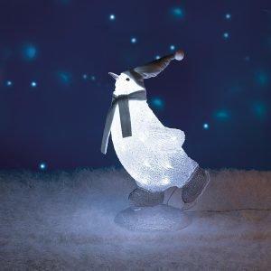 Airam Luisteleva Pingviini Led Koristevalo