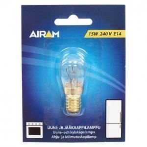 Airam Uunilamppu / Jääkaappilamppu 15w