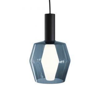 Airam Wirkkala K2-142 Valaisin Savunsininen Lasi + Lamppu