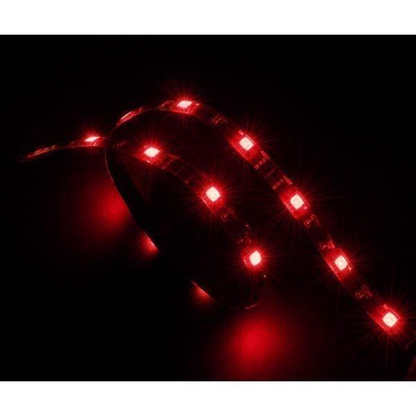 Akasa Vegas LED-lista tietokoneen kotelolle 12V punainen