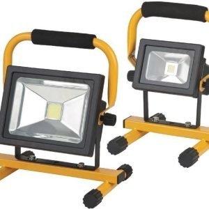 Akkukäyttöinen siirrettävä COB LED-valaisin 20 W IP54